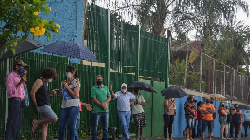"""疫情恶化 巴西圣保罗州隔离进入""""红色阶段"""""""