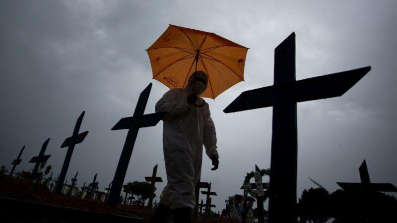 巴西疫情恶化 专家称两周后或将出现战争场景