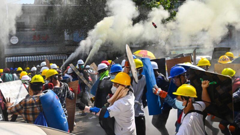 緬甸華商挺軍政府遭攻擊 疑遭當地華人出手教訓