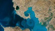 NASA最佳地球照 土耳其凡湖蓝漩涡 美到令人醉