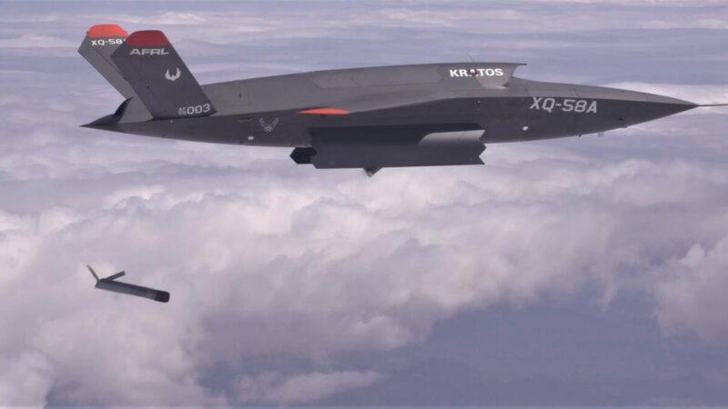 美軍無人機大突破 成功投射更小無人機 中共震驚