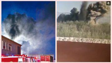 北京山西接连爆炸 2消防员丧生 工厂如核爆(视频)