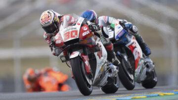 世界摩托車錦標賽 陰晴突變比賽驚險無常