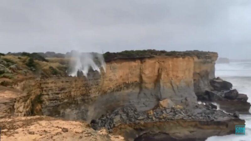 違反地心引力?澳洲瀑布努力向上衝