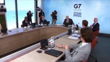 【禁闻】G7公报首提台海安全 多领域对抗中共
