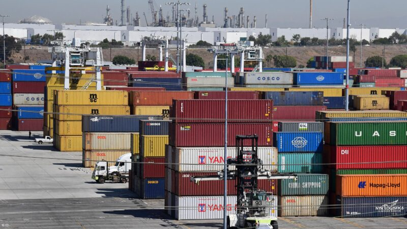 5月货柜量破百万 洛杉矶港成西半球第一