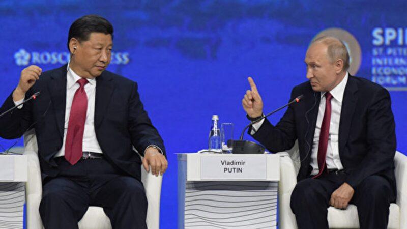 江澤民賣國條約延期5年!中共給普京送大禮