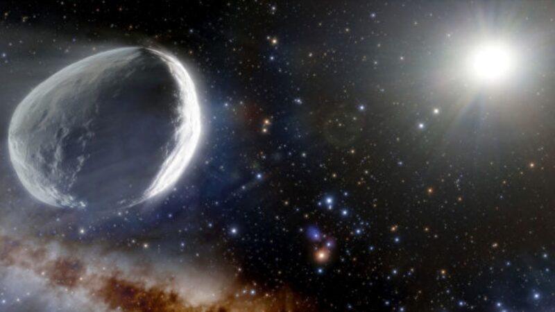 太阳系外发现巨型彗星 比普通彗星大千倍