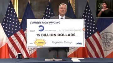 紐約市交通擁堵費 司機買單救MTA