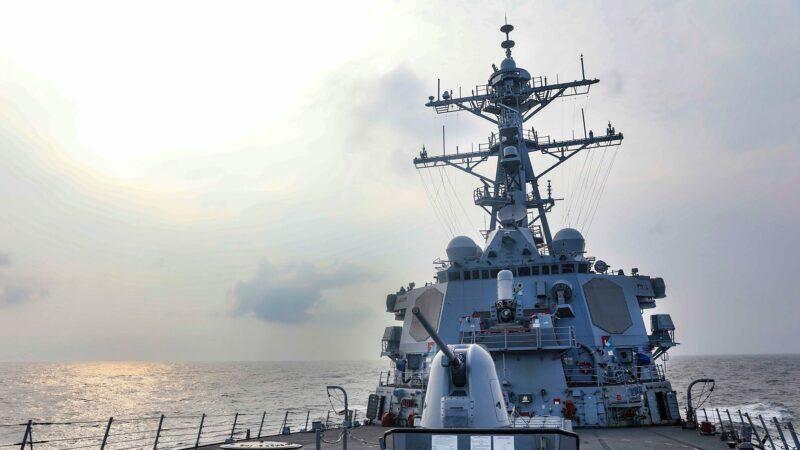 開放印太承諾 美國軍艦今年第7次通過台灣海峽