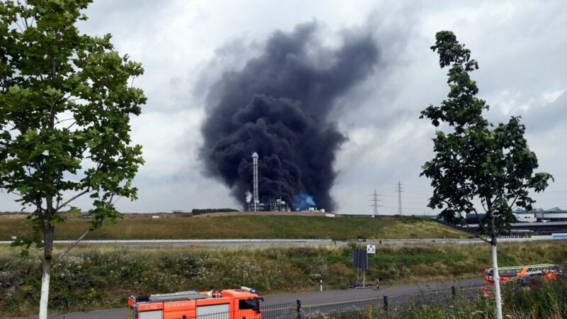 德國化學工業園區爆炸 濃煙衝天釀2死31傷5失蹤(視頻)