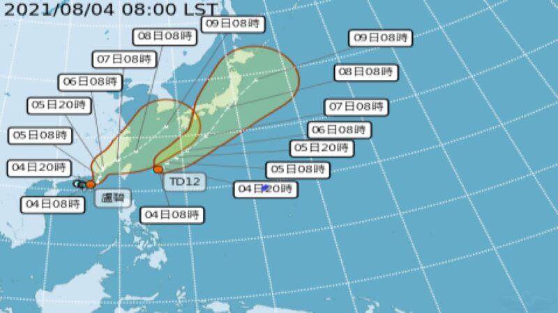 台风卢碧或直奔广东福建 台湾估今晚发海警