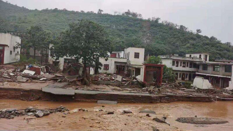 河南洪災王宗店村23人死亡 外界質疑遇難人數