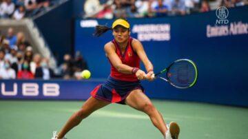 勒杜卡努美网夺冠 17年来最年轻大满贯冠军