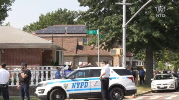 纽约皇后区传枪响 女警被丈夫持枪挟持