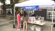 纽约法拉盛户外市场开放 振兴经济促进人流量