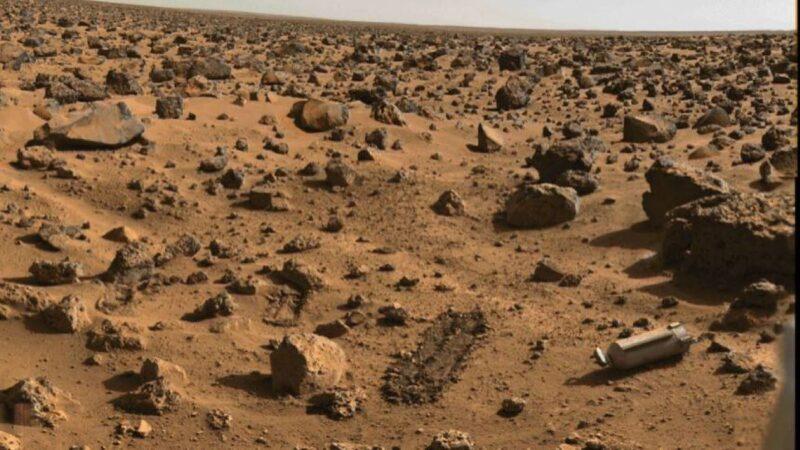 """火星惊现""""氧气瓶"""" 外星人留下的?"""