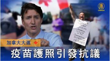 政府疫苗护照引发抗议和请愿