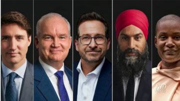 加拿大大选外交政策辩论:如何面对中共?