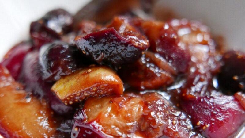 無花果李子醬 配合完美的秋天盛宴