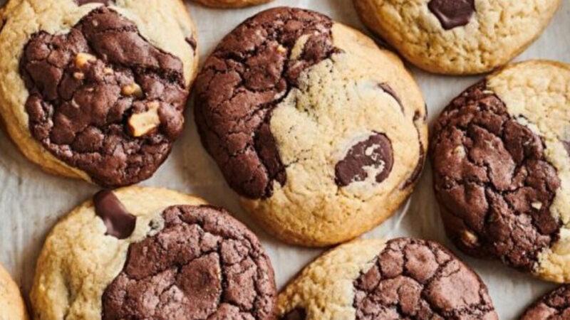 有嚼劲的布鲁奇饼干 将两种甜点合二为一