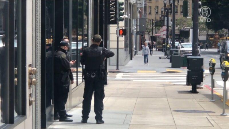 旧金山盗窃频传 当局增加警力打击犯罪