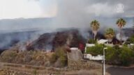 西班牙火山爆發 熔岩肆虐 逾六千人撤離