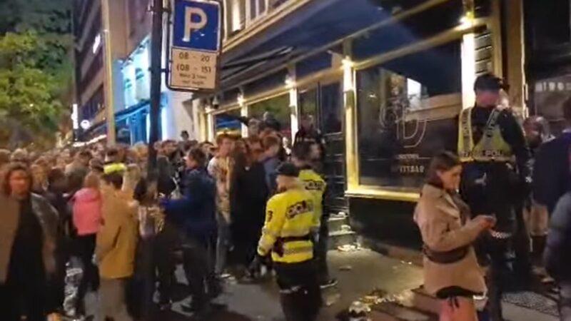 闪电式解除防疫限制 挪威民众疯狂庆祝酿混乱