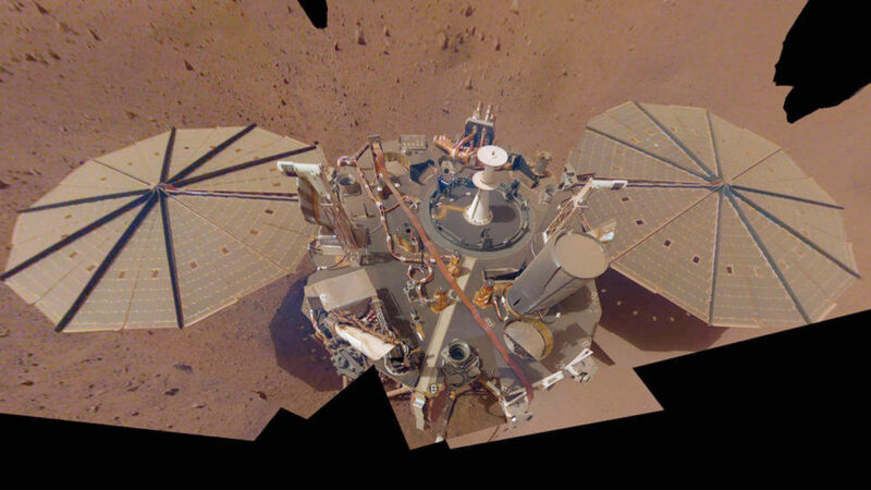 「洞察號」成功探測火星大地震 震動持續90分鐘