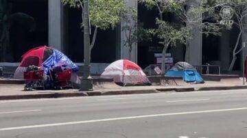 法院裁定: 洛市無權丟棄遊民大型物品