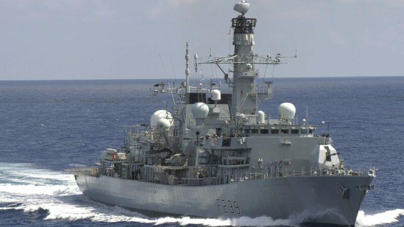 英艦首航越台海 AUKUS到齊 下一國是誰?