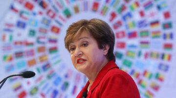 中共渗透国际组织 IMF总裁为中共修改数据
