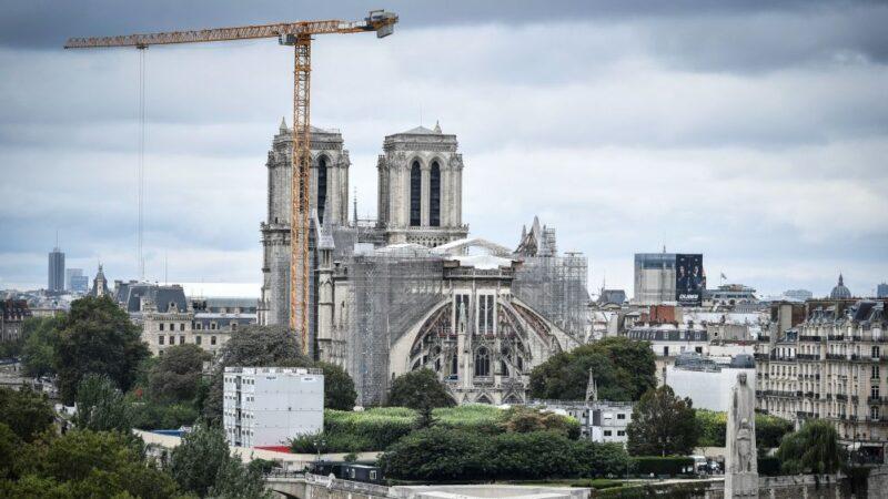 巴黎圣母院完成结构巩固工程 2024年可望重开