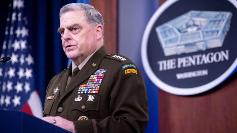 美最高將領二度祕密致電中共軍方 白宮回應