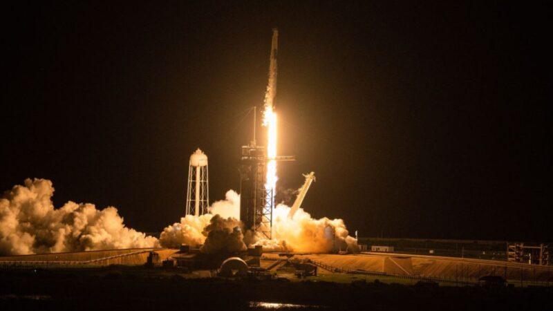 為期3天太空旅行啟程  SpaceX將4位平民送入太空