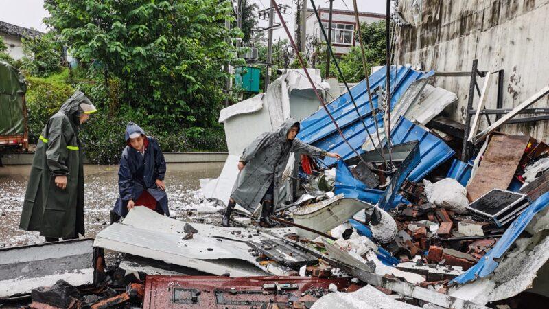 四川瀘州地震 114列火車停運