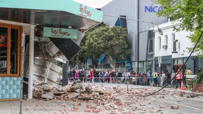 澳洲東南部罕見6.0地震 數百公里外民眾驚慌