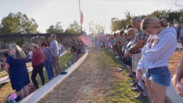 自由非免費 南加居民悼阿富汗陣亡美軍