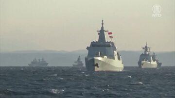 中俄军舰首次经过津轻海峡 日本密切注视