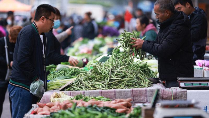 「菜比肉貴」中國多地菜價高漲