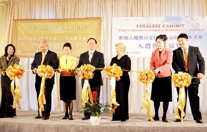 全世界華人油畫與攝影大賽開幕