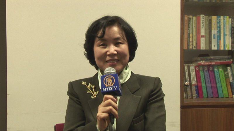 故黄正一前驻中国韩国大使夫人 朴英株 贺华人新年