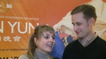 神韵传递传统价值 让荷兰观众感动