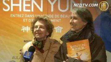 比利时观众: 神韵是给家人最好的礼物