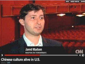 CNN國際新聞台報導神韻藝術團