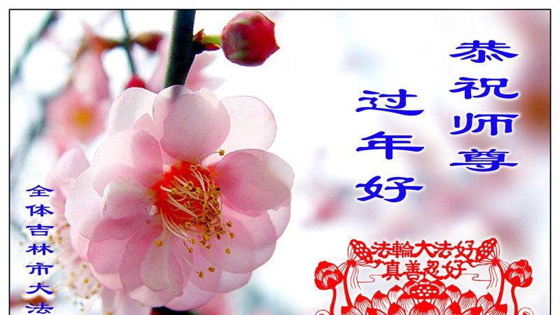 大陸法輪功學員恭祝創始人新年快樂(十六,237地)