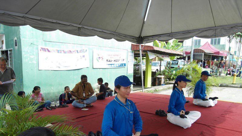 马来西亚天国乐团洪法传福音受欢迎