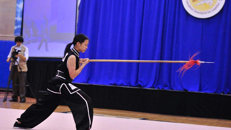 組圖:武術大賽男、女器械決賽選手風采