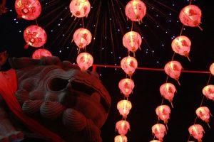 暹逻代天宫灯会  台泰齐庆新年