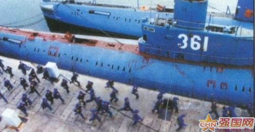 薄熙来 失事的361潜艇 活人走私